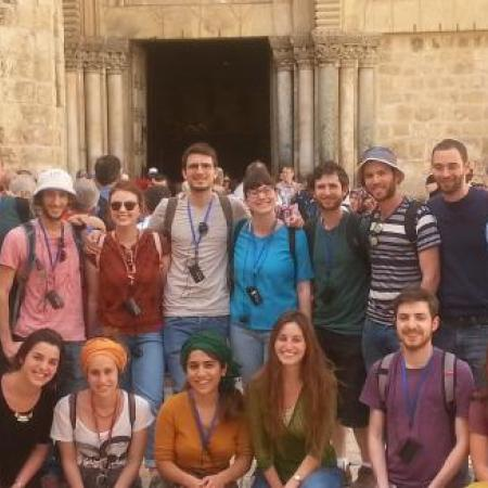 סיור של תלמידי שנה א' בעקבות הפסחא הנוצרית