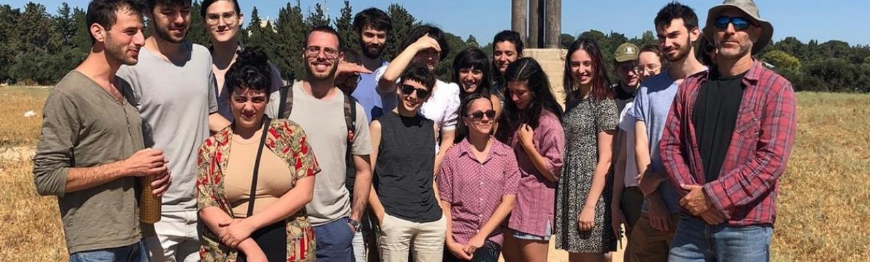 סיור במזרח ירושלים במסגרת הקורס הקונפליקט ישראלי פלסטיני