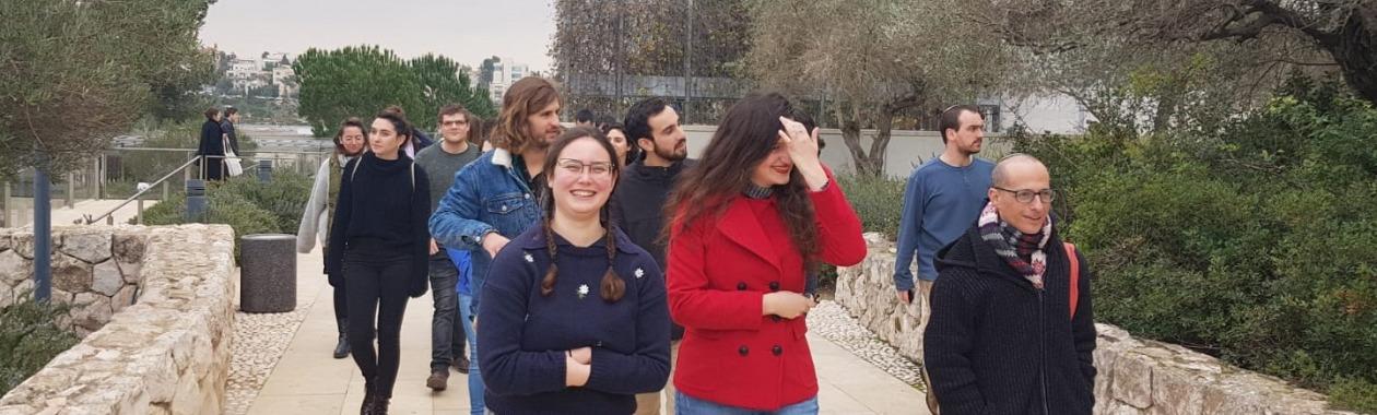 סיור במוזיאון ישראל במסגרת קורס מקרא